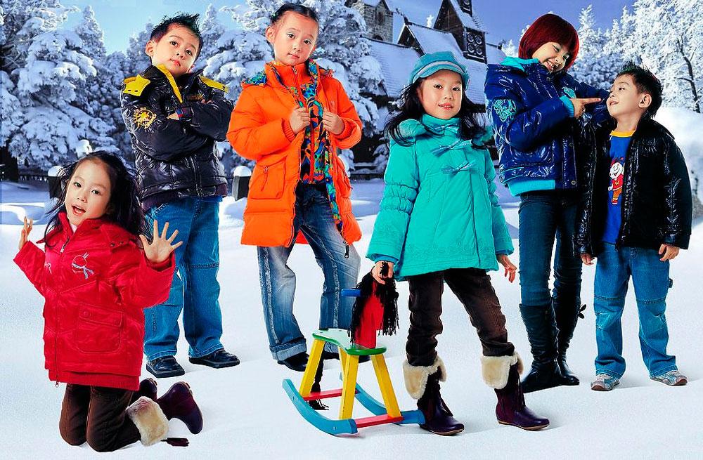 Детская одежда - поставки из Китая
